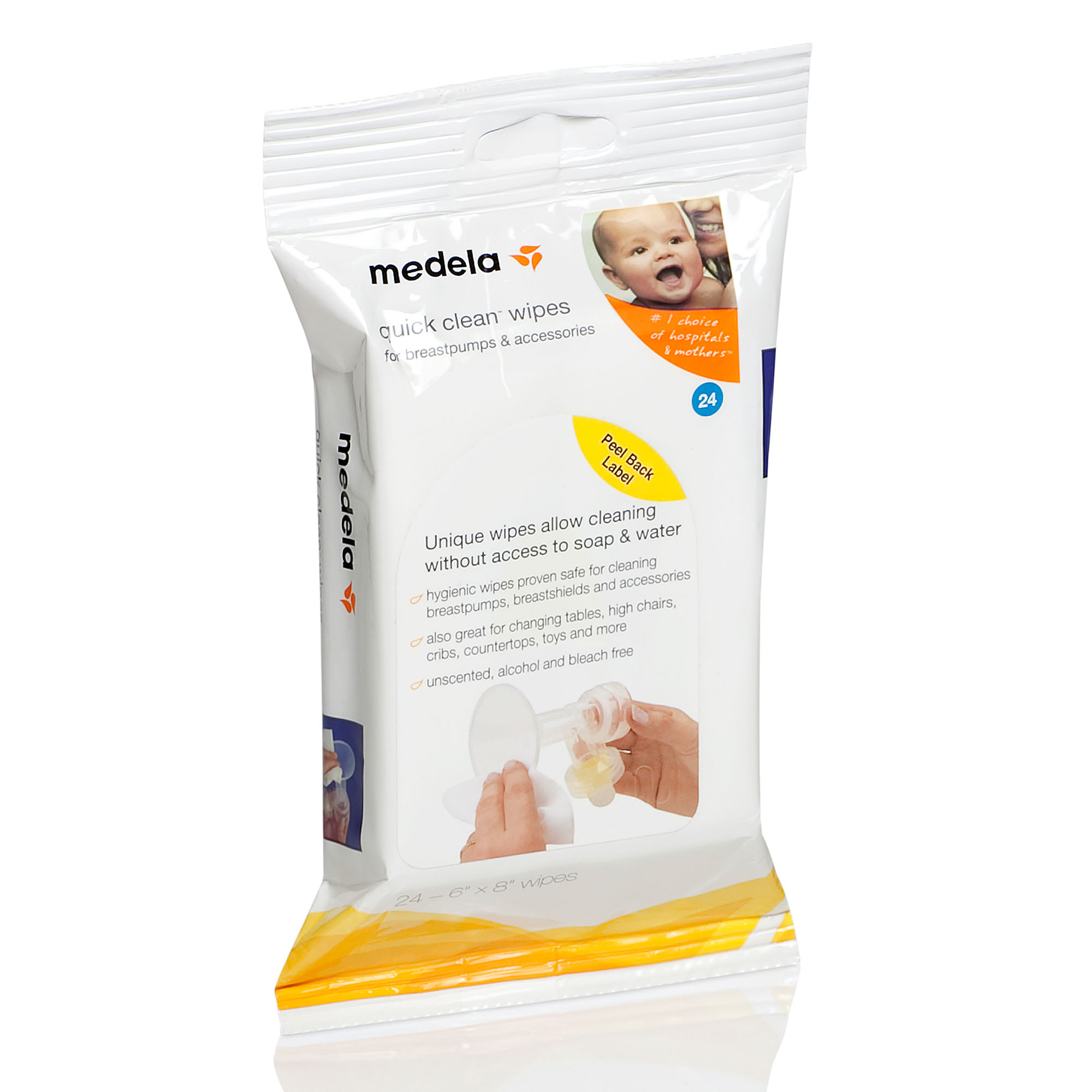 Quick Clean Wipes Hygienic For Breast Pumps And Accessories Medela Cooler Bag